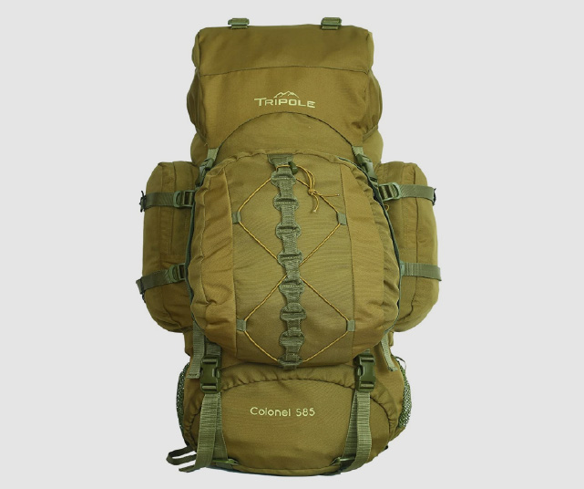 tripole colonel 85 liters rucksack + detachable day pack review